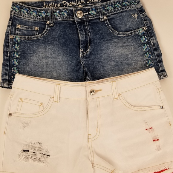 Justice Other - 2 PAIR JUSTICE SHORTS SZ 12 1/2 EXCELLENT SHAPE